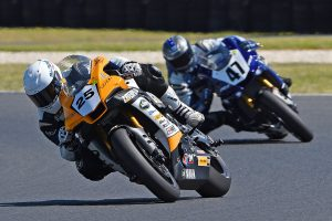Falzon goes back-to-back in ASBK race two at Phillip Island