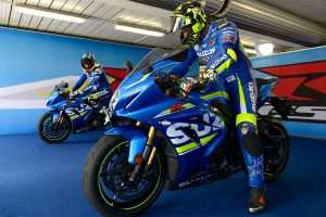Iannone and Rins ride 2017 Suzuki GSX-R1000R at Phillip Island