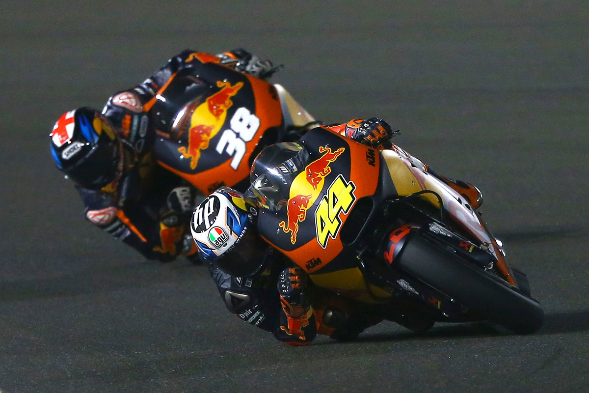 Double finish a satisfying start for factory KTM MotoGP project - CycleOnline.com.au