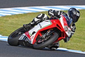 MV Agusta's Hern forced out of second ASBK round