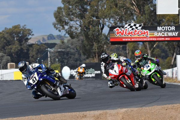 Maxwell edges to ASBK race one win at Winton