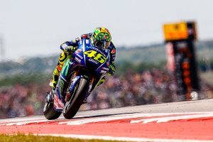 Rossi the new points leader following COTA runner-up