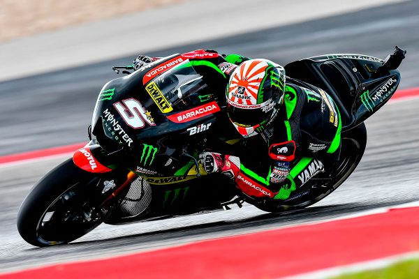 Zarco makes it back-to-back top fives in Texas