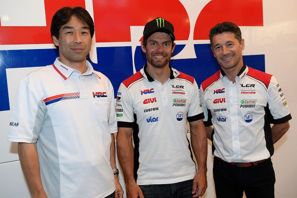 Crutchlow to remain at LCR in two-year HRC contract