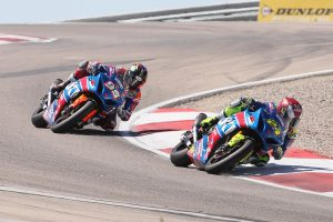 Elias leads double MotoAmerica Suzuki 1-2 at Utah