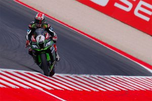 Kawasaki's Rea sets Friday WorldSBK pace at Misano