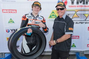 Mahaffy wins Pirelli's 'Rider of the Round Award'