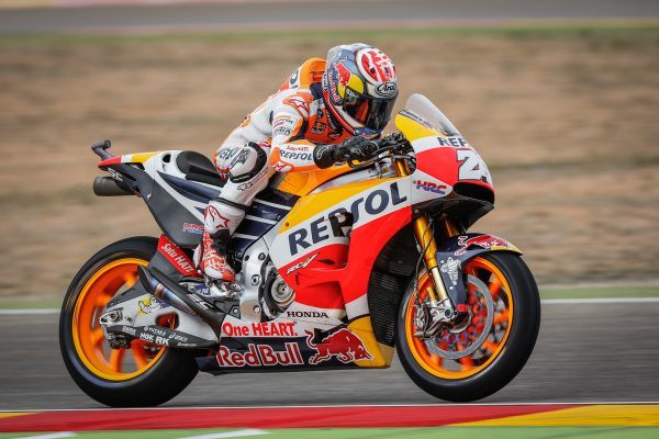 Pedrosa fastest in Friday MotoGP practice at Aragon