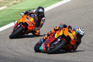 KTM makes another step toward MotoGP leaders in Spain