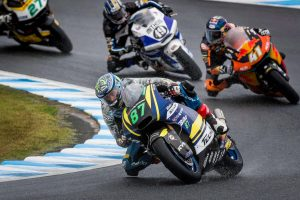 Wet Japanese grand prix sees Gardner shine in tricky conditions