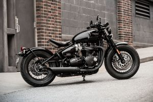Triumph uncovers Bonneville Bobber Black edition