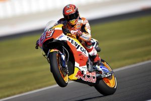 Marquez charges to MotoGP pole at Valenica finals