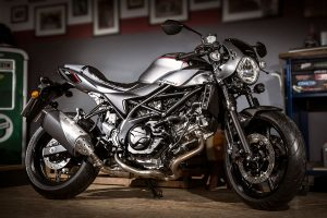 Suzuki to release cafe racer-inspired SV650X for 2018