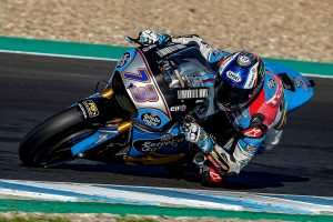 Guest MotoGP test for Marc VDS's Alex Marquez at Jerez