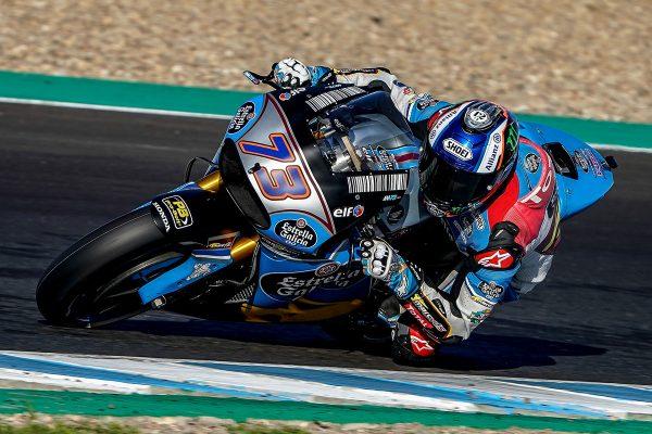 Guest MotoGP test for Marc VDS's Alex Marquez at Jerez