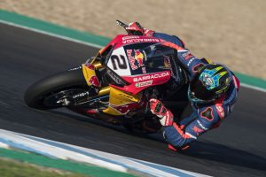 Optimistic Camier impresses in Red Bull Honda debut
