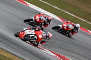 Van Eerde shines in Asia Talent Cup test debut