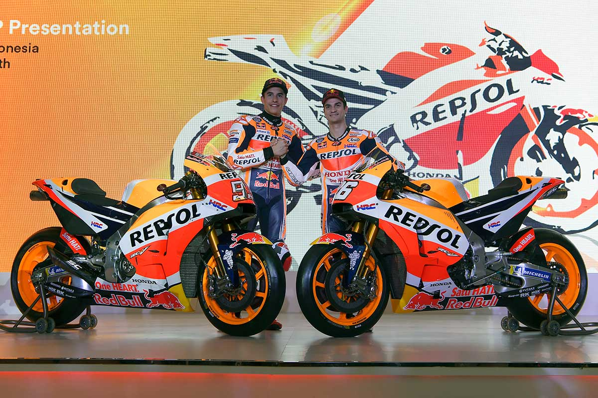 Repsol Honda launches 2018 team in Indonesia - CycleOnline.com.au