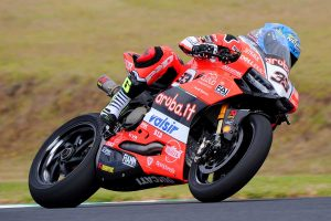 Melandri tops day one of WorldSBK testing at Phillip Island