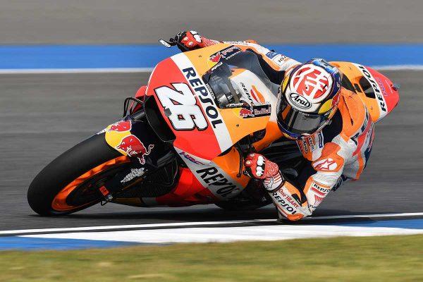 Pedrosa concludes Thailand MotoGP test fastest