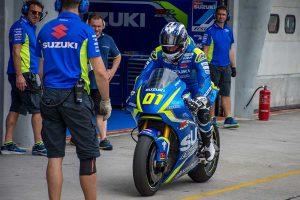 Countdown: Waters' Suzuki MotoGP experience