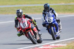 Herfoss makes it an ASBK three-peat at Wakefield Park