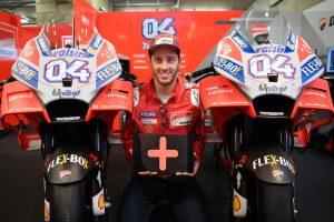 Dovizioso extends Ducati contract through 2020 season