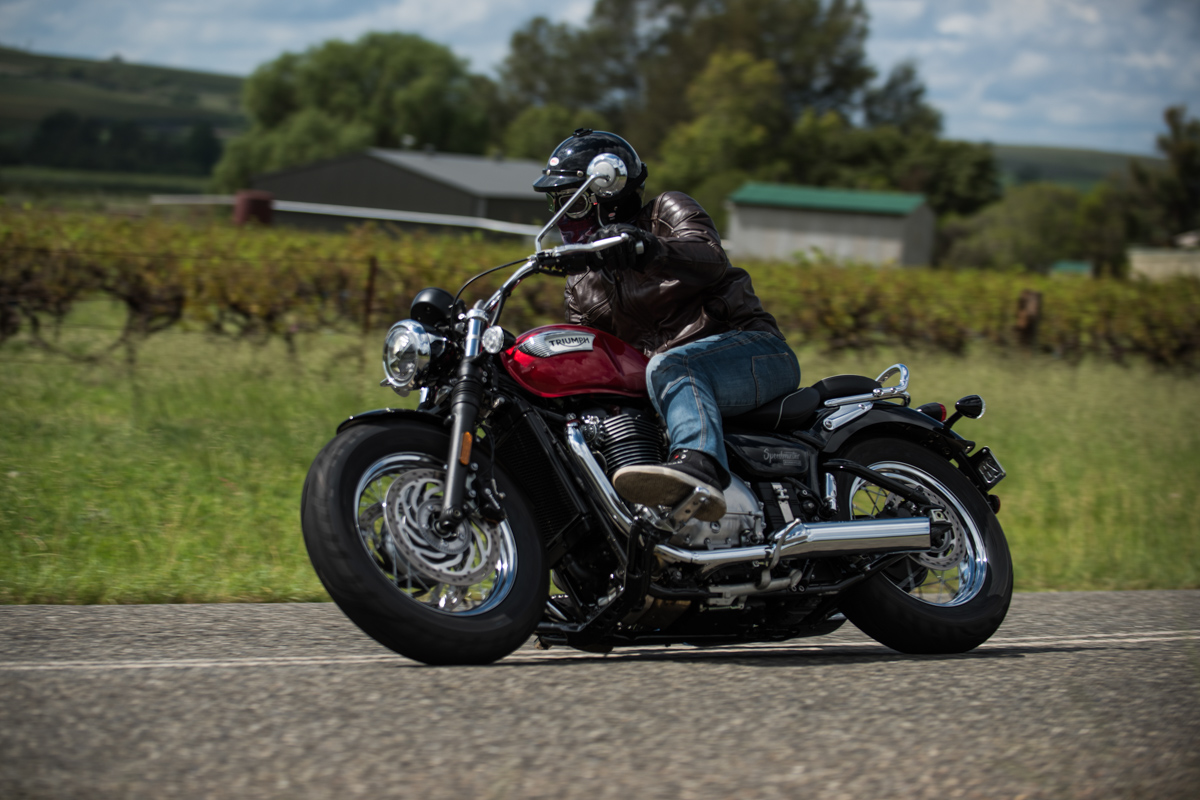 Review 2018 Triumph Bonneville Speedmaster Cycleonlinecomau