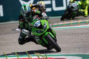 Remarkable sixth for West at Imola despite broken wrist