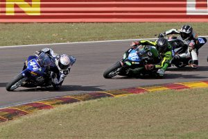 Bramich edges to tight Supersport 300 race one win