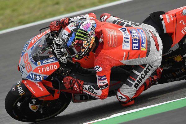 Lorenzo continues form in Catalunya MotoGP practice