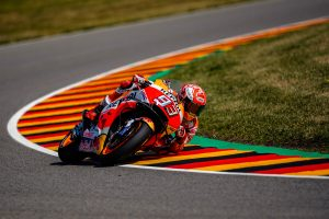 Marquez snatches pole from Petrucci at the Sachsenring