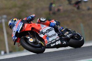 Dovizioso edges Rossi for Czech Republic MotoGP pole