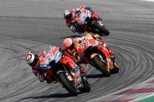 Lorenzo triumphant in Red Bull Ring MotoGP showdown