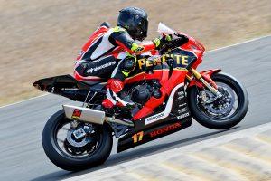 Penrite Honda Racing's Herfoss sweeps Morgan Park ASBK weekend