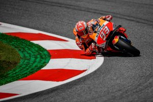 Marquez tops MotoGP qualifying at the Red Bull Ring
