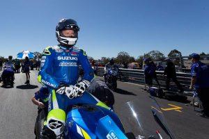 Team Suzuki ECSTAR Australia Winton bound