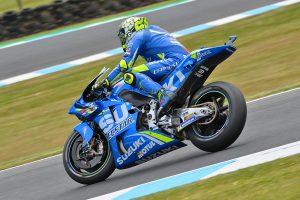 Suzuki's Iannone tops Australian GP practice on Friday