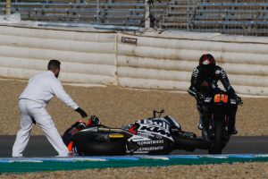 Moto2 newcomer Martin suffers multiple injuries in debut test