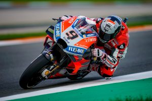Petrucci satisfied with factory Ducati base on debut