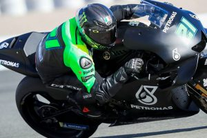 Petronas Yamaha makes official MotoGP entry at Spanish test