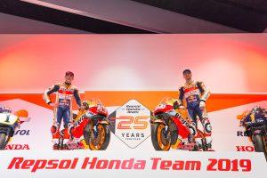 Repsol Honda launches 2019 MotoGP livery in Spain
