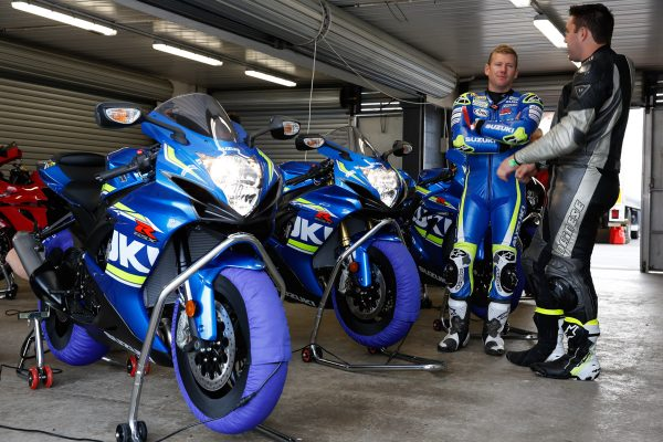 Waters, Maxwell and Giles to offer tuition at Suzuki track day