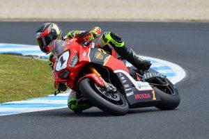 Penrite Honda Racing's Herfoss charges through Phillip Island double-duties
