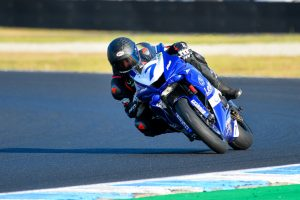 Perfect Supersport scorecard for Toparis at Phillip Island opener