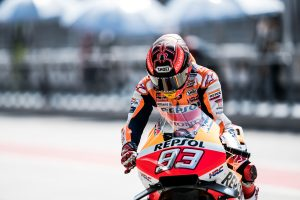 Repaired shoulder hinders Marquez at Sepang