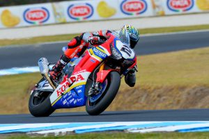 Camier seeking 'definitive step' in first official Honda WorldSBK outing