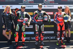 WorldSBK champion Rea surges to Phillip Island Superpole