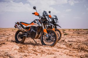 Countdown: Mid-capacity adventure bikes