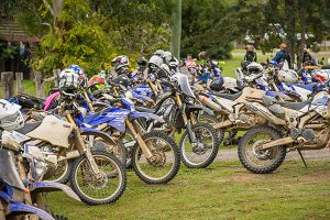 WR250R Rally goes for gold